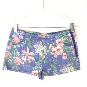 GB Floral Juniors Shorts Size 7 Small